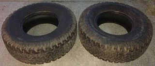 BF Goodrich All Terrain Tires 37x12 50x17 Good Used Pair 37inch 12 50 17