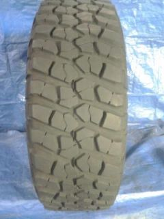 One BF Goodrich Mud Terrain T A Used Tire 35x12 50R17LT 35 12 50 17 Lt D114