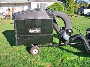 Agri Fab Brush Wood Chipper Leaf Vacuum Shredder Briggs Stratton Engine 205 CC
