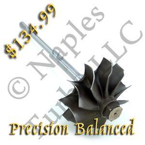 Garrett GTP38 445604 0601 Turbine Wheel Shaft Ford Powerstroke 7 3 L 7 3L T444E