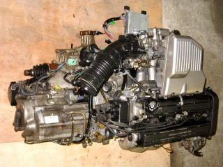 JDM B20B B20Z DOHC 2 0L Honda CRV 99 01 Engine w Auto Transmission 4WD Motor