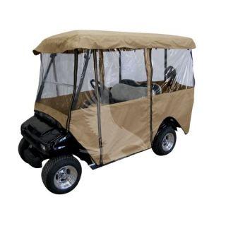 New Golf Cart 4 Seat Cover Enclosure EZGO EZ Go Club Car DS Yamaha Precedent