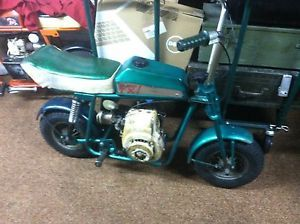 Broncco TX 1 Old Minibike Bronco Mini Bike Vintage Tecumseh Aspera Fantic