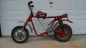 Rupp Mini Bike Vintage Rupp Hustler Mini Bike Complete Less Engine