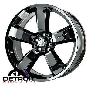 "Dodge Charger SRT8 20"" Black Chrome Wheels Rims 2262 X4"