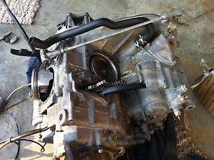 2005 Kawasaki Brute Force 750 4x4 Engine Motor Cases Bottom End Primary Clutch