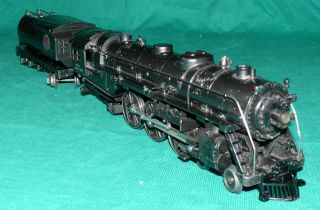 Pre War Lionel Train 763E Gray Steam Engine Tender 2263W Restored