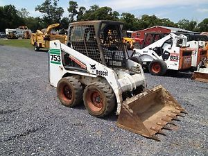 2001 Bobcat 753G Skid Steer Loader w Kubota Diesel Engine
