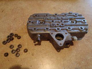 1991 92 Polaris Indy 500 EFI 488 CC Fugi Engine Cylinder Head w Nuts Free SHIP