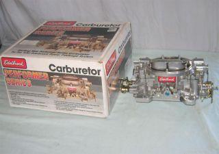 Edelbrock 750 CFM Carburetor Model 1407 Very Nice in Original Box Hot Rat Rod