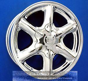 "Cadillac Escalade GMC Yukon Tahoe Chevy Suburban 16 inch Chrome Wheels Rims 16"""