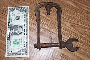 Antique Automobile Tool Spare Tire Jack Wrench Ford Chevrolet Model A T Old Car