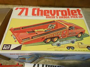 MPC 1971 Chevrolet Racer's Wedge Pickup Truck Car Model Car Kit Junkyard Parts