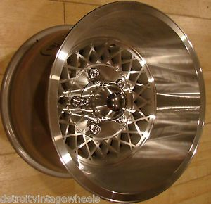 15x10 Custom Aluminum 70s Appliance Wire Mags Rims Wheels 5x5 5 Ford F150 Bronco