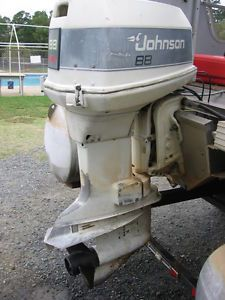 Johnson Evinrude 88SPL Outboard Motor 2 Stroke Engine Good Condition