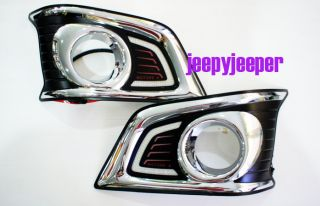 LED Daytime Light Fog Lamp Light Cover Toyota Hilux MK7 Vigo Champ 2012 2013 M
