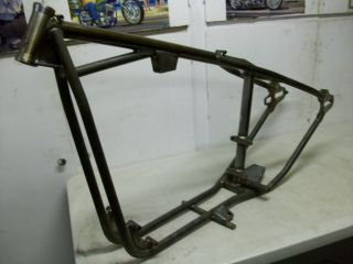 Harley Ironhead Sportster Rigid Hardtail Frame Chassis
