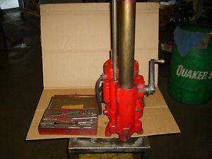 Van Norman Boring Bar 777s with Tool Kit Machine Shop Engine