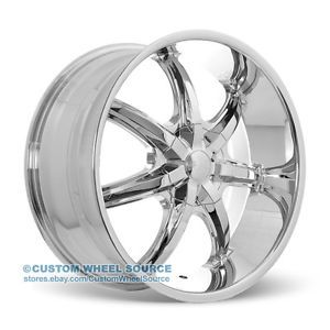 "17"" U2 35S Wheels Rims and Tire Package Chrome 5x114 3 5x112 Altima Accord 17 20"