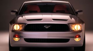05 09 Ford Mustang Speed RAM Air Functional Hood Body Kit