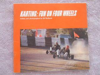 1967 Vintage Go Kart Book Karting Rupp McCulloch Bug Dart Fox Minibike Engine 67