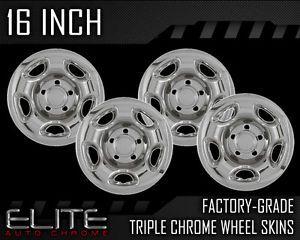 "99 04 Suzuki Grand Vitara 16"" Chrome Wheel Skin Covers"