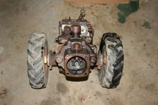 Gravely L Tractor Parts Transmission and Crankcase Walk Behind Tractor