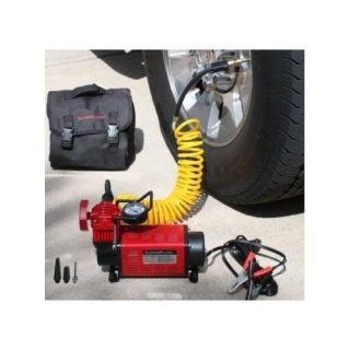 Tires Trucks Car RV Superflow High Volume 12 Volt Air Compressor Pump Portable