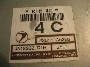 03 Subaru Legacy Outback ECU ECM Engine Control Module Computer 22611 AH05B