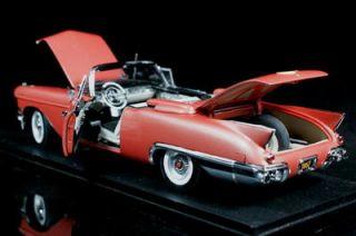 Danbury Mint 1957 Cadillac Eldorado Biarritz Diecast 1 24 Scale Rose