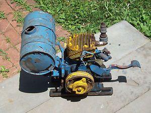 Cushman Husky Scooter Engine 4 HP 1940's Vintage Model 17M71 Eng Number A62686