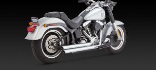 Vance Hines Big Shots Staggered 4 Harley Davidson Softail FXST FLST Models 2012