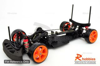 1 10 RC R C YKM DIB EP Belt Drive Performance Drift Car Chassis Assembled Kit R