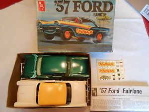 Parts Lot AMT 1957 Ford Fairlane Junkyard View Photos Then Bid I