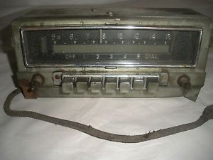 Vintage Mopar Model Radio Dodge Plymouth Chrysler Car Truck Parts