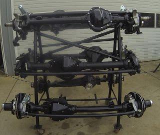 GM 14 Bolt Dana 60 Hybrid Front Axle Detroit Locker Chromoly Remanufactured