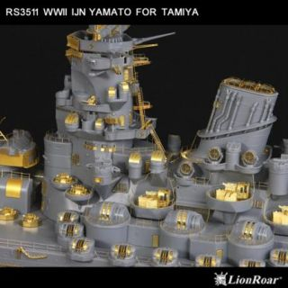 Lion Roar 1 350 WWII IJN Battleship Yamato for Tamiya LR RS3511