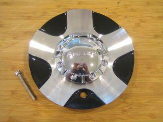 Akuza 455 Drift Machine Black Wheel Rim Center Cap EMR455 Truck Cap LG0608 05