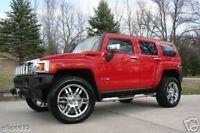 20 Hummer H3 Chrome Rims Wheels Tires Nitto Terra New