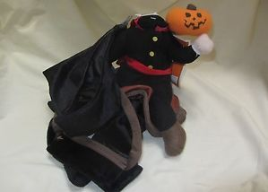 Dog Pet Costume Halloween Headless Horseman Size Medium M New