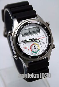 RARE Vintage Casio AW 600 Dual Time Watch New Japan