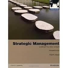 Strategic Management Concepts and Cases 14th Edition by Fred David