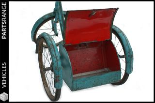 Gresham Flyer Tricycle Trike Raleigh Antique Automobilia Showroom Bike Bycicle