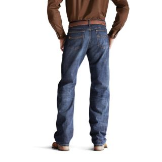 Ariat Western Denim Jeans Mens M3 Athletic Rawhide 10008400
