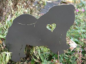 Chow Chow Pet Dog Memorial Garden Stake Lawn Ornament