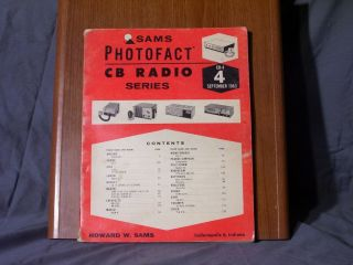 Sams PhotoFact CB Radio 4 September 1963 Pearce Simpson Lafayette Heath Sony
