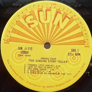 "LPA Sun 115 Johnny Cash ""The Singing Story Teller"""