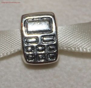 New Authentic Pandora Cell Mobile Phone Charm Retired SS Silver 925 Ale 790293