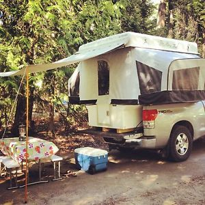 Cool Pop Up Truck camper Like Tent Trailer 4x4 Off Road