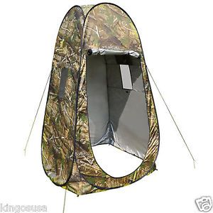 Privacy Outdoor Camouflage Portable Changing Tent Camping Toilet Pop Up Room